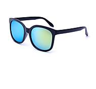 Gafas de Sol hombres / mujeres / Unisex's Moda Cuadrado Negro Gafas de Sol Completo llanta