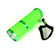 Lights LED Flashlights/Torch LED 100 Lumens 1 Mode LED AAA Small Size / Night Vision Camping/Hiking/Caving / Everyday Use Aluminum alloy
