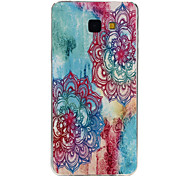 Flower Pattern TPU Material Phone Case for Samsung Galaxy Galaxy A3(2016)/Galaxy A5(2016)/Galaxy A7(2016)