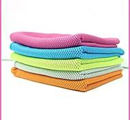 Yoga Serviettes Polyester Orange Bleu foncé Bleu cair Vert