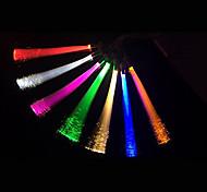 5pcs 1.5W luz branca / quente branco / azul / amarelo / verde / vermelho fibra óptica criativo g4 decorativo conduziu a lâmpada de luz