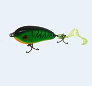 """Esche rigide 1 pc,27.5 g/1 Oncia,70 mm/2-3/4"""" pollice Verde Plastica duraPesca di mare / Pesca a mosca / Pesca a mulinello / Pesca a"""