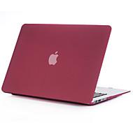 """плывун матовый жесткий полный покрытие кейс корпус для Macbook Air 11 """"сетчатка 13"""" / 15 """"(вино красное)"""