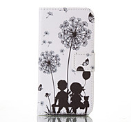 Lovers Painted PU Phone Case for Galaxy  S7/ S7edge /S7 plus