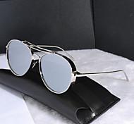 Unisex's100% UV400 Browline Sunglasses
