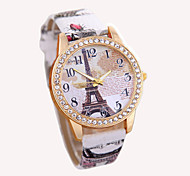 New Vintage Paris Eiffel Tower Women's Quartz Watch Women Girls Ladies Students Casual Wristwatch Relojes Cool Watches Unique Watches
