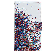 The Sky Star Pattern PU Leather Full Body Case with Stand for Wiko Rainbow Jam 4G