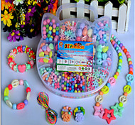 Children's DIY Hand Woven Bracelet Correct Training Amblyopia Acrylic Beaded Box Puzzle/Toys