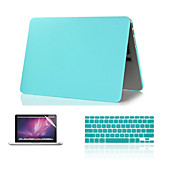 "New Fashion Matte  Hard Case +Keyboard Cover+ Screen Protector for Macbook Air 11""Pro 13""/15"""