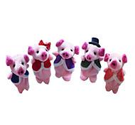 Игрушки Мягкие игрушки Поросенок Мультяшная тематика Необычные игрушки Мальчики / Девочки Текстиль