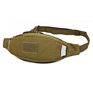 2L L Belt Pouch Campeggio e hiking / Scalata / Corsa / Jogging All'aperto / Tempo libero Impermeabile Marrone Nylon OEM