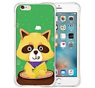comer reino funda de silicona transparente trasero suave para el iPhone 6 / 6s (colores surtidos)