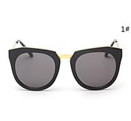 Sunglasses Women's Modern / Fashion Browline Black Sunglasses Full-Rim