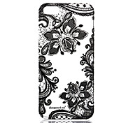 For iPhone 5 Case Pattern Case Back Cover Case Lace Printing Soft TPU iPhone SE/5s/5