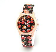 Women's Ladies Fashion Printing  Watches Quartz Watch