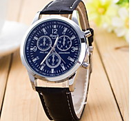 Women's Unisex Fashionable Quartz Watch Leather Band