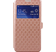 KARZEA™ Diamond Pattern TPU and PU Leather Case with Stand for Grand Prime G530 (Assorted Colors)