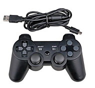 bedraad dual shock zes-assige controller voor PS3 console pc game