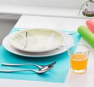 4 pcs / set moda pad geladeira antibacteriano anti-incrustação mofo absorção de umidade pad (cor aleatória)