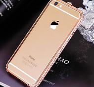 Luxury Diamante Metal Bumper for iPhone 6