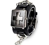 Unisex Fashion Watch Non-Mainstream Korean Chain Flip Cross Belt Quartz Watch(Assorted Colors) Cool Watches Unique Watches