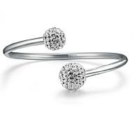 Fine 925 Silver Cuff Bracelet Bangles Jewelry