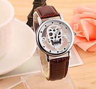 Men's Hot Fashion European Style Hollow Gear Grimace Quartz Wrist Watch Cool Watch Unique Watch