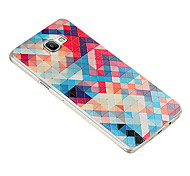 For Samsung Galaxy Case Pattern Case Back Cover Case Geometric Pattern TPU Samsung A9