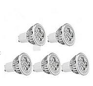 5W GU10 LED Spot Lampen MR16 1 350-400 lm Kühles Weiß Dimmbar AC 220-240 V 5 Stück