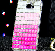 For Samsung Galaxy Case Rhinestone Case Back Cover Case Color Gradient Acrylic Samsung A9