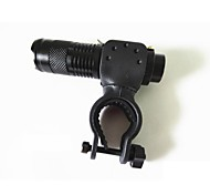 LS1799 Bicycle Light 7 Watt 2000LM 1-Mode CREE Q5 LED Zooming Focusing Flashlight Torch AA Flashlight + Bicycle Holder
