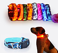 LED Flash Collar Seven Kinds Of Color is Optional 35 To 60 cm Long Pet Collars