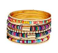 MOGE New Fashion Vintage / Cute / Party / Casual Alloy / Resin / Porcelain  Bracelet