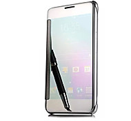 Luxury Clear View Mirror Flip Smart Case Cover For Samsung Galaxy J1(2016)/J5(2016)/J7(2016) (Assorted Colors)