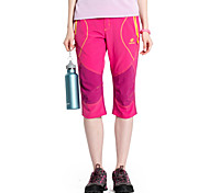 Women Outdoor Sport Quick Drying Wear-resting Sun&UV Protection Lightweight Stretch Cropped Pants