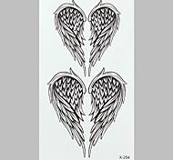 alas de angel tatuaje de la manera pegatinas impermeables del tatuaje