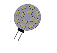 6W G4 LED-spotlampen MR11 12 SMD 5730 450-550 lm Warm wit / Koel wit Decoratief DC 12 / AC 12 / AC 24 / DC 24 V 1 stuks