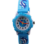 Manufacturer Direct Fashion 3D Pattern Silicon Rubber Belt Child Watch Cool Watches Unique Watches