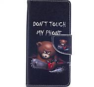 Corpo Completo carteira / Entrada de Cartão / com suporte Palavra / Frase Couro Ecológico Duro Case Capa Para HuaweiHuawei P9 / Huawei