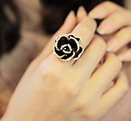 Korean Jewelry Wholesale Retro Alloy Rose Ring
