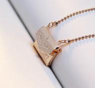 Personalized Fashion Pendant Square Retro Box Can Put Photo Necklace
