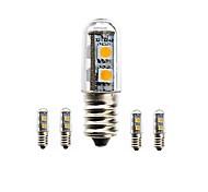 LED a pannocchia 7 SMD 5050 sencart Modifica per attacco al soffitto E14 1.5W Impermeabile / Decorativo 80-120 LMBianco caldo / Luce