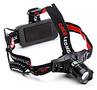 Lights Headlamps / Lanterns & Tent Lights / Headlamp Straps LED 500 Lumens 3 Mode Cree XR-E Q5 18650Adjustable Focus / Anglehead /
