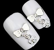colgante mental de la joyería del clavo de diamantes de aleación preciosa (5pcs)