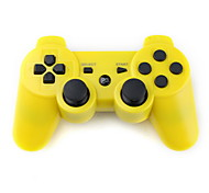 Controller wireless DualShock 3 USB ricaricabile per PS3 - Giallo