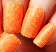 Ekbas Orange Matte Nail Glue 16ML Nail Polish