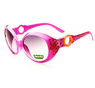 Round Full-Rim Plastic Resin Fashion Sunglasses for Kids