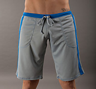 Running Bottoms Men's Breathable / Quick Dry Fitness / Racing / Running Sports Gray