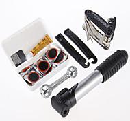 Kit de reparación de herramientas profesionales de la bicicleta de la