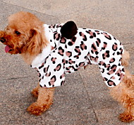Dog Hoodie / Clothes/Clothing Pink Spring/Fall Leopard Leopard / Keep Warm-Lovoyager